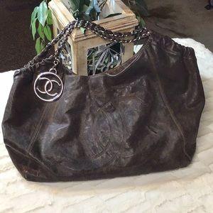 Chanel hobo style handbag